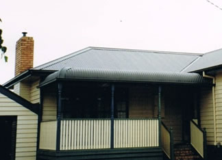 colorbond bullnose roofing replacemnet Eastern suburbs Melbourne