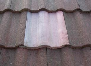 Roof Restoration - match tiles to fix roof East Melbourne